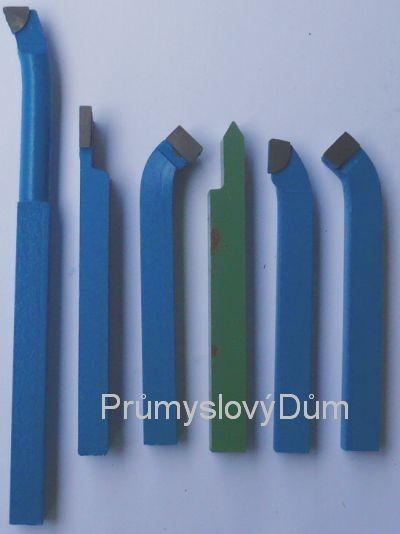 Soustružnické nože 10x10 mm 6ks