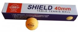 RICHMORAL SHIELD Míčky stolní tenis bezešvé žluté 6ks