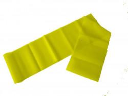 Aerobic guma, 1200x150mm, tl. 0,4mm, žlutá