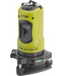 EXTOL 34900 Laser liniový, křížový samonivelační + METR