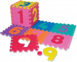 Dìtská hrací podložka s èísly Sedco 30x30x1,2cm - 12ks