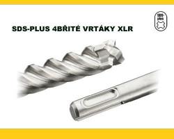 6x160 SDS Plus vrták 4-břitý XLR DeWALT