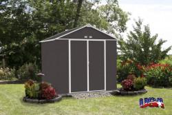 EZEE SHED 87 zahradní domek 238x218cm šedý