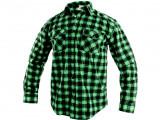 Flanelová košile TOM zelená
