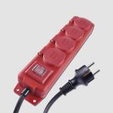 EMOS Prodlužovací kabel 4Z 5M 1,5mm IP44 GUMA