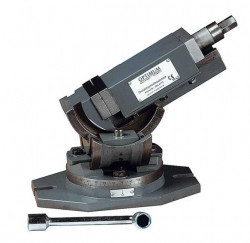 Svěrák 125mm trojosý otočný OPTIMUM MV3-125