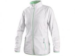 Mikina GRANBY LADY dámská fleece bílo-zelená