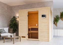 KARIBU SELENA finská sauna vnitøní 1,95x1,45m bez topidla
