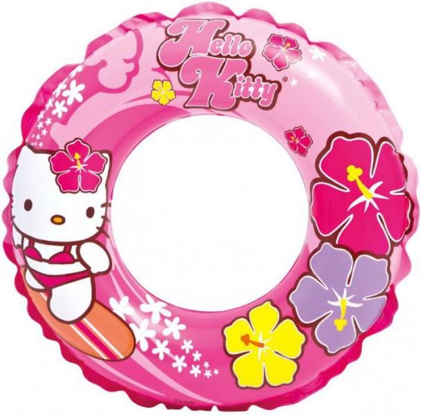 Nafukovací kruh HELLO KITTY, prům. 61cm