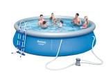 BESTWAY 457x107cm bazén + filtrace, žebøík, plachty