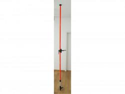 Tyč-stativ k laserům, teleskopická/šroubovací, dosah až 3m, 8823906
