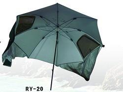 Rybářský přístřešek deštník 200cm khaki