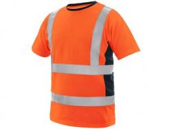 Tričko EXETER výstražné pánské, oranžové