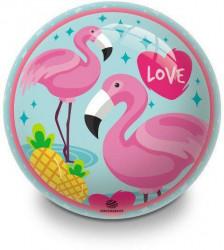 Míč dětský MONDO Flamingo 140mm plameňák