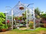 BALANCE 8x12 Silver skleník 366x242cm + HNOJIVO, PLACHTA