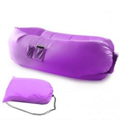 Nafukovací vak SOFA LAZY BAG 10268 fialový