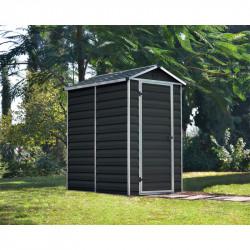 Skylight 4x6 antracit zahradní domek plastový 177x122cm