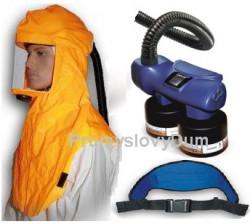 Dýchací jednotka CleanAIR Chemical 2F Lakýrník