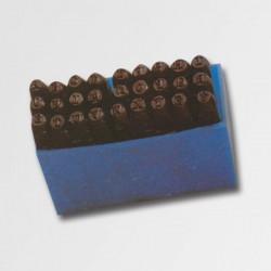 Razníky písmena 8 mm P19768