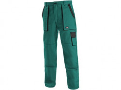 Kalhoty do pasu CXS LUXY JOSEF zeleno-èerné