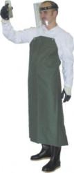 Zástěra pogumovaná zelená GUSTAV 1111