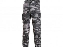 Kalhoty CXS VENATOR pánské, černo-šedé (maskáčové)