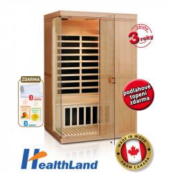 DeLuxe 2200 Carbon infrasauna HEALTHLAND AKCE