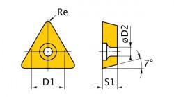 Břitové destičky T/60°, 5 ks TCMT090204