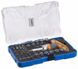61-Tool Box 61dílná sada bitů a hlavic NAREX