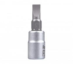 """5,5mm plochý šroubovák hlavice 1/4""""FORTUM"""