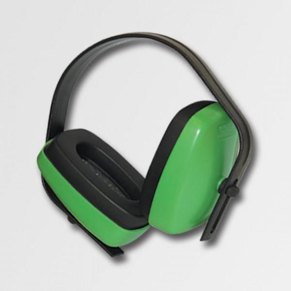 Zelená sluchátka