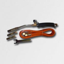 Opalovací plynová souprava 3 nástavce 2KW hadice 1,5m PA23509