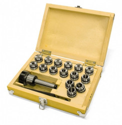 Kleštinový upínač MK4/M16/ER32 + kleštiny 3-20mm OPTIMUM