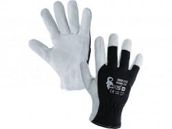 Kombinované rukavice TECHNIK ECO, èerno-bílé