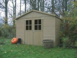 ESTER zahradní domek døevìný 281x194cm + PODLAHA