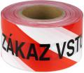Páska výstražná ZÁKAZ VSTUPU 75mm x 250m