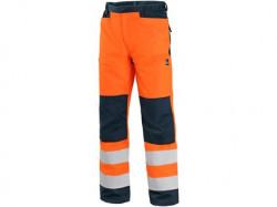 Kalhoty HALIFAX výstražné se sí�ovinou, pánské, oranžovo-modré