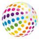 Nafukovací plážový míč barevný prům. 107cm