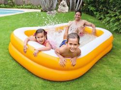 FAMILY MANDARIN Bazén nafukovací 229x147x46cm