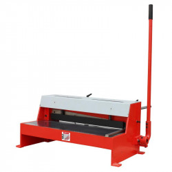 HOLZMANN TBS 650PRO tabulové nůžky na plech 650mm/1,5mm