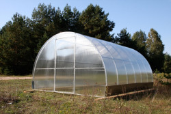 VOLHA 3,3x6m PC 4mm skleník 19,8m2 + OKNO