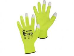 BRITA TOUCH rukavice máčené v PU 1 pár - PRODEJ PO 12 párech