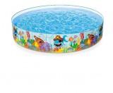 Bazén 244x46 cm s pevnou stìnou INTEX