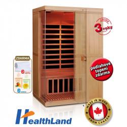 DeLuxe 2200 Carbon - BT infrasauna HEALTHLAND AKCE