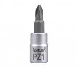 """PZ1 plochý šroubovák hlavice 1/4"""" FORTUM"""