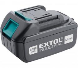 Baterie akumulátorová 18V, Li-ion, 4Ah EXTOL INDUSTRIAL