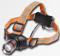 Svítilna hlavová LED 3W CORONA PC5902 se zoomem