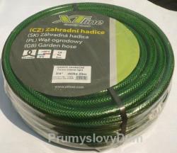 """1/2"""" 25m Zahradní hadice XTline zeleno-černá light"""