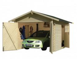 KARIBU 54133 døevìná garáž 28 mm natur