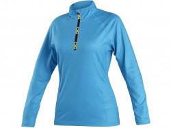 Mikina/tričko CXS MALONE, dámská, středně modrá